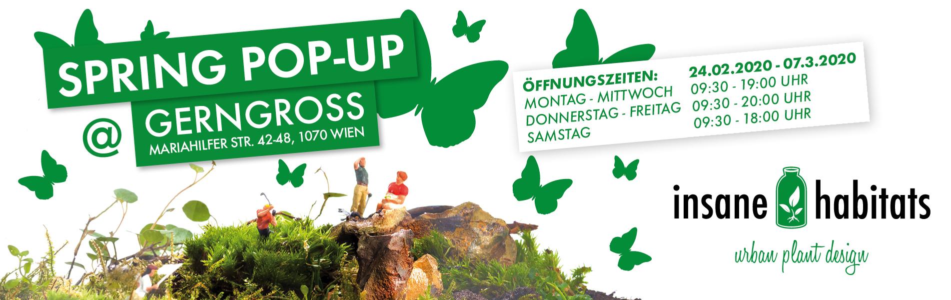 Banner Spring Pop-Up @ Gerngross